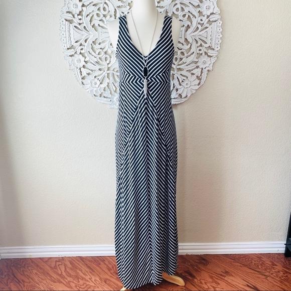 Motherhood Maternity Dresses & Skirts - {Motherhood Maternity} Striped Maxi Dress